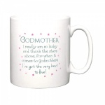 Godmother - Thanks The Stars Ceramic Mug