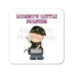Mummys Little Soldier Coaster