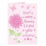 Personalised Mothers Day Card