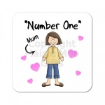 Number One Mum Coaster