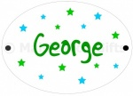 Personalised Bright Star Bedroom Door Plaque