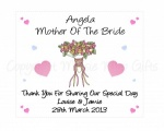 Personalised Mother Of The Bride/Groom Glasses Cleaning Cloth