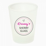 Personalised Name Sherry Shot Glass