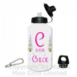 Personalised Princess Castle Water Bottle