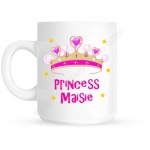 Princess Crown Personalised Mug