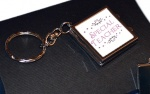 Special Teacher Compact Mirror Photo Locket Keyring