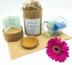 Mindfulness Gift Jar - 30 Days of Practical Tasks & Mindful Vibes  - Includes Colour Coded Notes - Destress - Reduce Anxiety - Mental Health & Wellbeing - Relaxing Wellness Guide - Self Care Practice