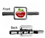 Personalised Teacher Square Tie Slide