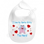 Personalised I Love My .... Baby Bib