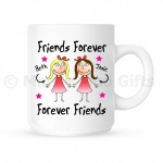 Personalised Friends Forever Mug
