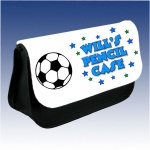 Personalised Football Pencil Case
