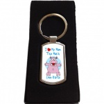 Personalised I Love My Mum Keyring
