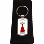 Personalised Bridesmaid Keyring
