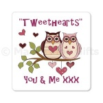 Tweethearts Owl Fridge Magnet
